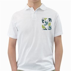 Elegant floral design Golf Shirts