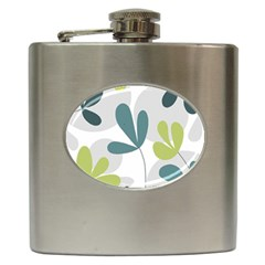 Elegant floral design Hip Flask (6 oz)