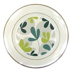 Elegant floral design Porcelain Plates