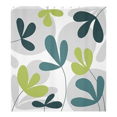Elegant floral design Shower Curtain 66  x 72  (Large)