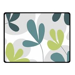 Elegant floral design Fleece Blanket (Small)