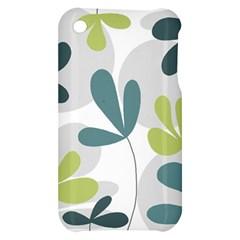 Elegant floral design Apple iPhone 3G/3GS Hardshell Case