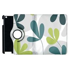Elegant floral design Apple iPad 3/4 Flip 360 Case