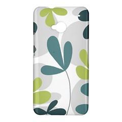 Elegant floral design HTC One M7 Hardshell Case