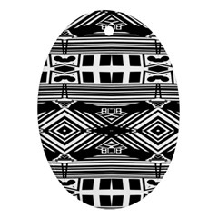Si Ber Linx Oval Ornament (two Sides)