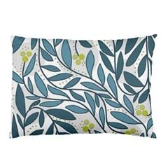 Blue floral design Pillow Case