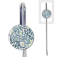 Blue floral design Book Mark