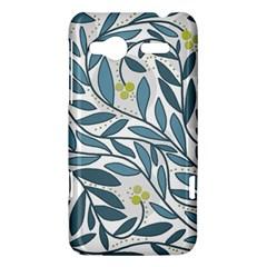 Blue floral design HTC Radar Hardshell Case