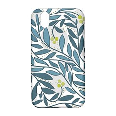 Blue floral design LG Optimus P970