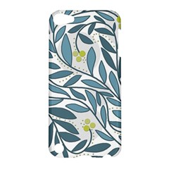 Blue floral design Apple iPod Touch 5 Hardshell Case