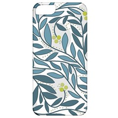 Blue floral design Apple iPhone 5 Classic Hardshell Case