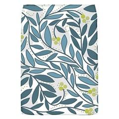 Blue floral design Flap Covers (L)
