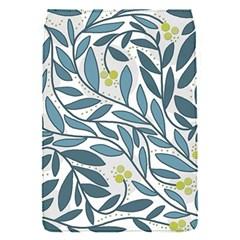 Blue floral design Flap Covers (S)