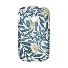 Blue floral design Samsung Galaxy S6310 Hardshell Case