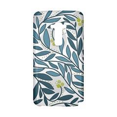 Blue floral design LG G Flex