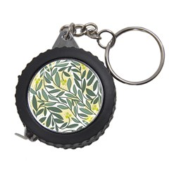 Green floral pattern Measuring Tapes