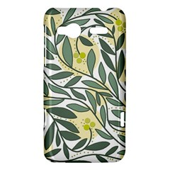 Green floral pattern HTC Radar Hardshell Case
