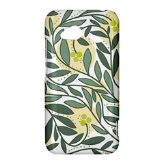 Green floral pattern HTC Droid Incredible 4G LTE Hardshell Case