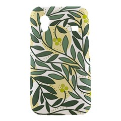 Green floral pattern Samsung Galaxy Ace S5830 Hardshell Case