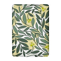Green floral pattern Kindle 4