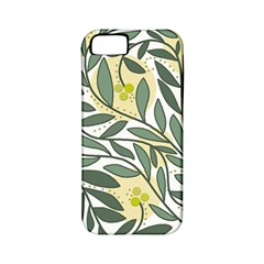 Green floral pattern Apple iPhone 5 Classic Hardshell Case (PC+Silicone)