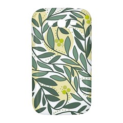 Green floral pattern Samsung Galaxy Grand DUOS I9082 Hardshell Case