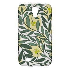 Green floral pattern Samsung Galaxy Mega 6.3  I9200 Hardshell Case