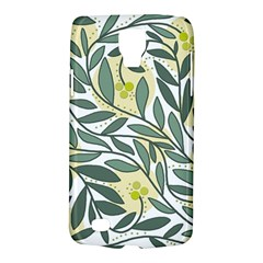 Green floral pattern Galaxy S4 Active