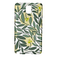Green floral pattern Samsung Galaxy Note 3 N9005 Hardshell Case