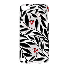 Red, black and white elegant pattern Apple iPod Touch 5 Hardshell Case