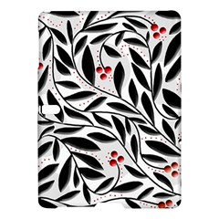 Red, black and white elegant pattern Samsung Galaxy Tab S (10.5 ) Hardshell Case