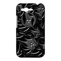 Black floral design HTC Rhyme