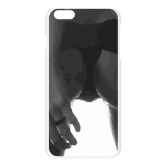 9 Bondage Oil Paint Girl Standing In Shadows Ass Butt Apple Seamless iPhone 6 Plus/6S Plus Case (Transparent)