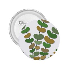 Green decorative plant 2.25  Buttons