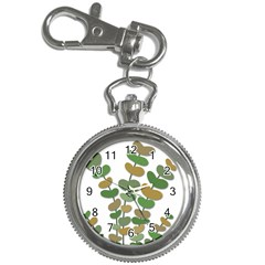 Green decorative plant Key Chain Watches