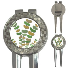Green decorative plant 3-in-1 Golf Divots