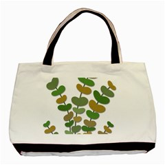 Green decorative plant Basic Tote Bag