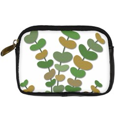 Green decorative plant Digital Camera Cases
