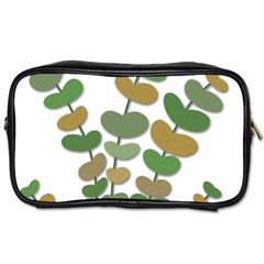 Green decorative plant Toiletries Bags 2-Side