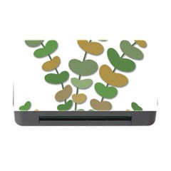 Green decorative plant Memory Card Reader with CF