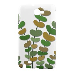 Green decorative plant Samsung Galaxy Note 1 Hardshell Case