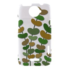 Green decorative plant HTC One X Hardshell Case