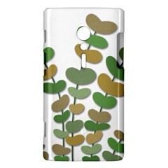 Green decorative plant Sony Xperia ion
