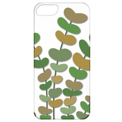 Green decorative plant Apple iPhone 5 Classic Hardshell Case