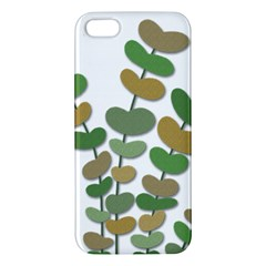 Green decorative plant Apple iPhone 5 Premium Hardshell Case