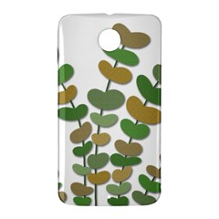 Green decorative plant Nexus 6 Case (White)