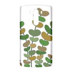 Green decorative plant LG G3 Back Case