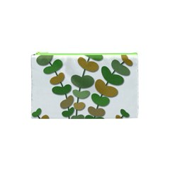 Green decorative plant Cosmetic Bag (XS)