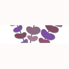Purple decorative plant Large Bar Mats