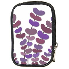 Purple decorative plant Compact Camera Cases